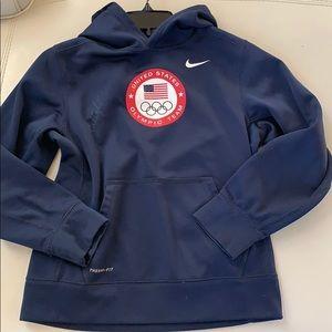 Natalie Coughlin singed Olympic hoodie NIKE jacket